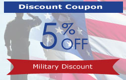Image result for 5% discount for military